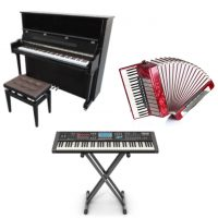 Tasteninstrumente Klavier Keyboard Akkordeon